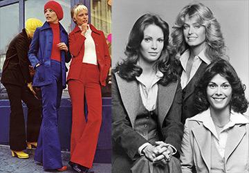 Мода и прически 1970-х годов