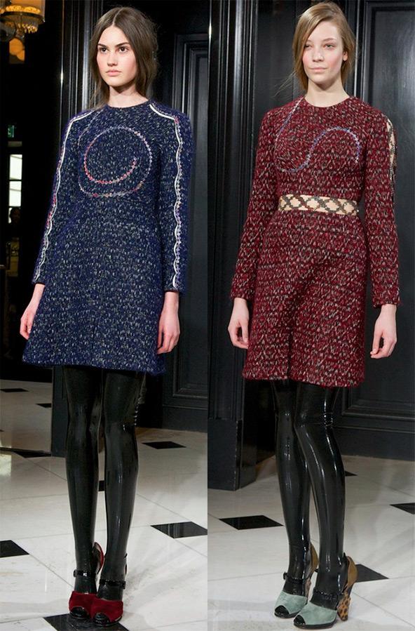 Платья теплые зима 2016