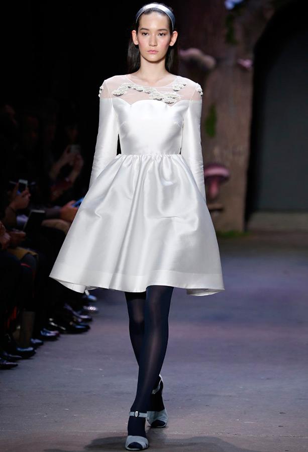 Белое платье Honor
