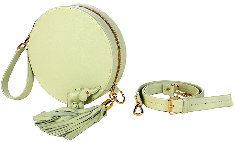 Красивые женские сумочки круглой формы