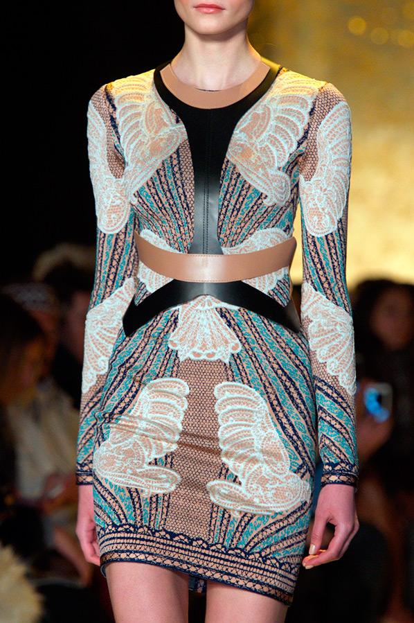 Облегающее платье Herve Leger