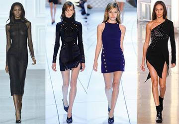 30 Облегающих платьев из новых коллекций