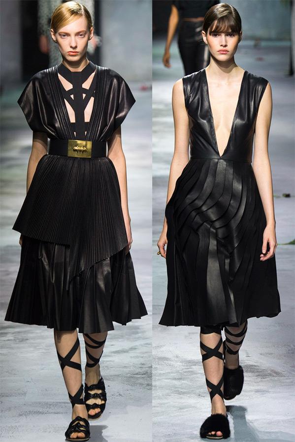 Черные платья Vionnet