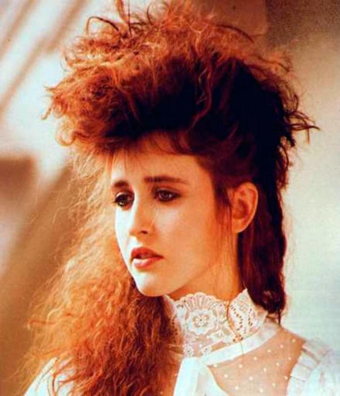 Прически 1980-х годов