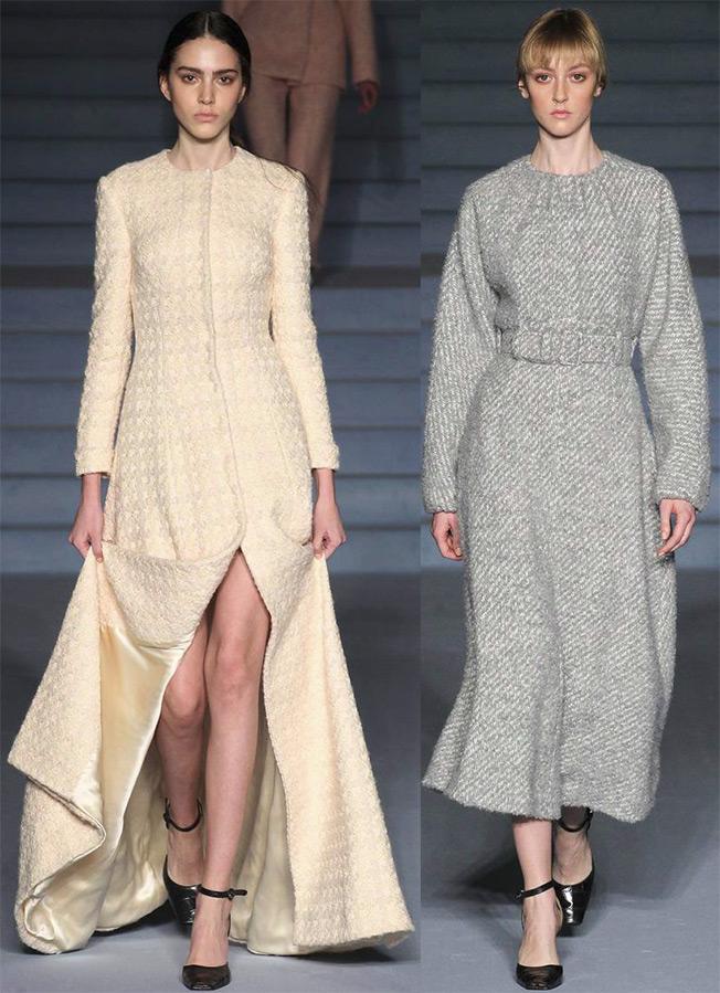 Зимние платья, фото