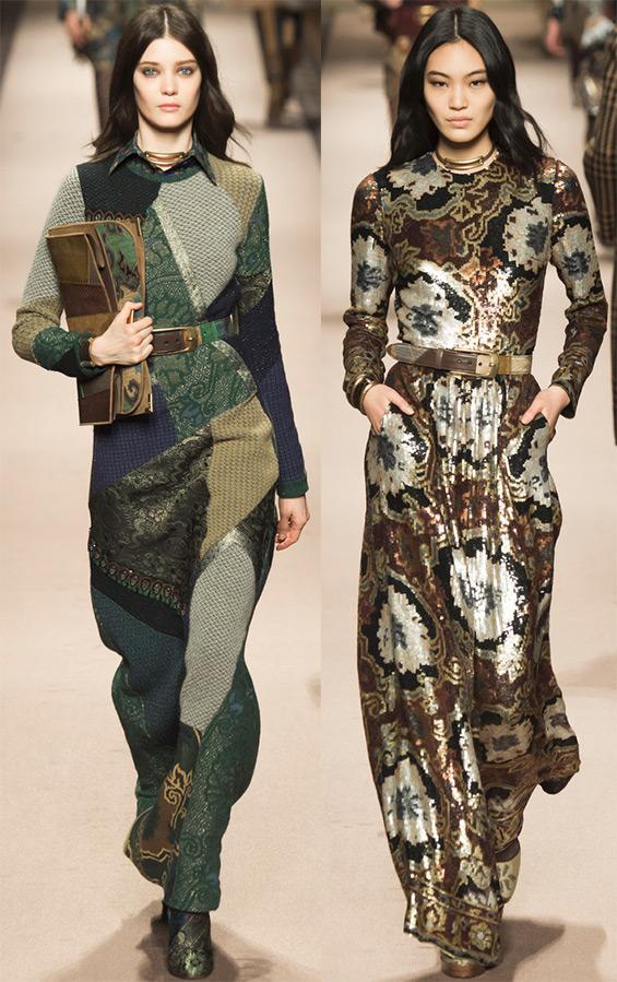 Зимний сезон модные платья