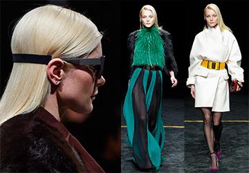Образы Джессики Стэм с недели моды