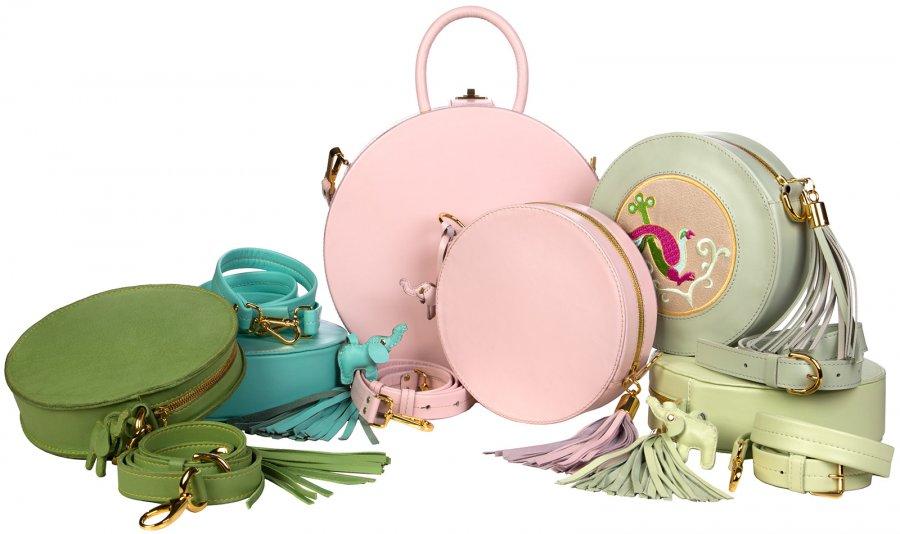 Круглые женские сумочки и рюкзаки от бренда BaraBas