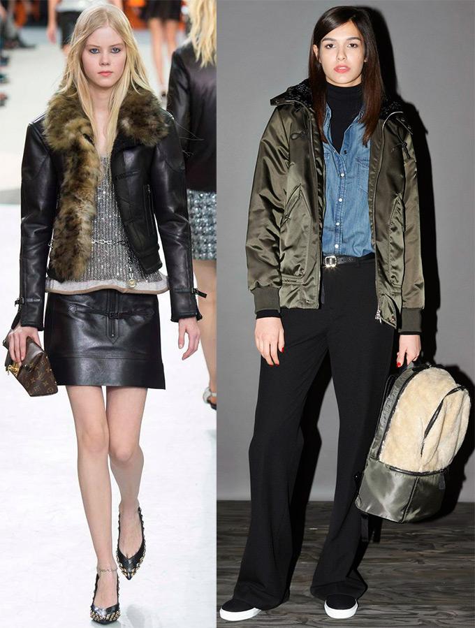 Модные женские куртки осень-зима 2015-2016 a1c2b0c726075