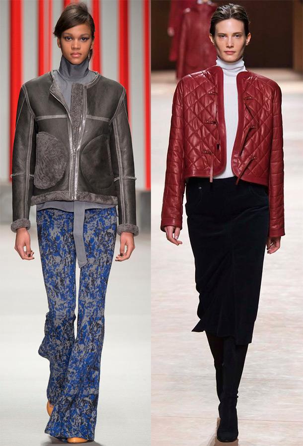 Модные женские куртки осень-зима 2015-2016 8156e5d8f91