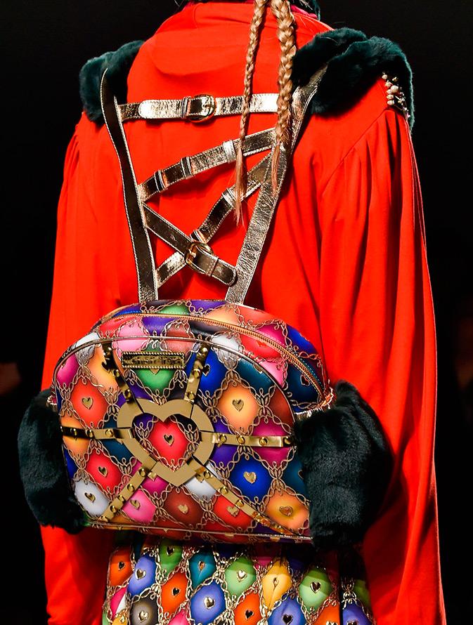 Яркий модный рюкзак