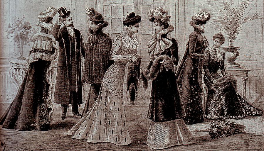 Мода и стиль в 1900-е годы – стиль модерн