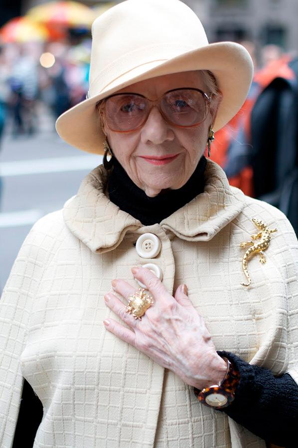 Модные образы женщин в возрасте