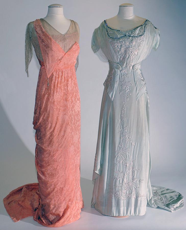 Платья 1908-1914 годы