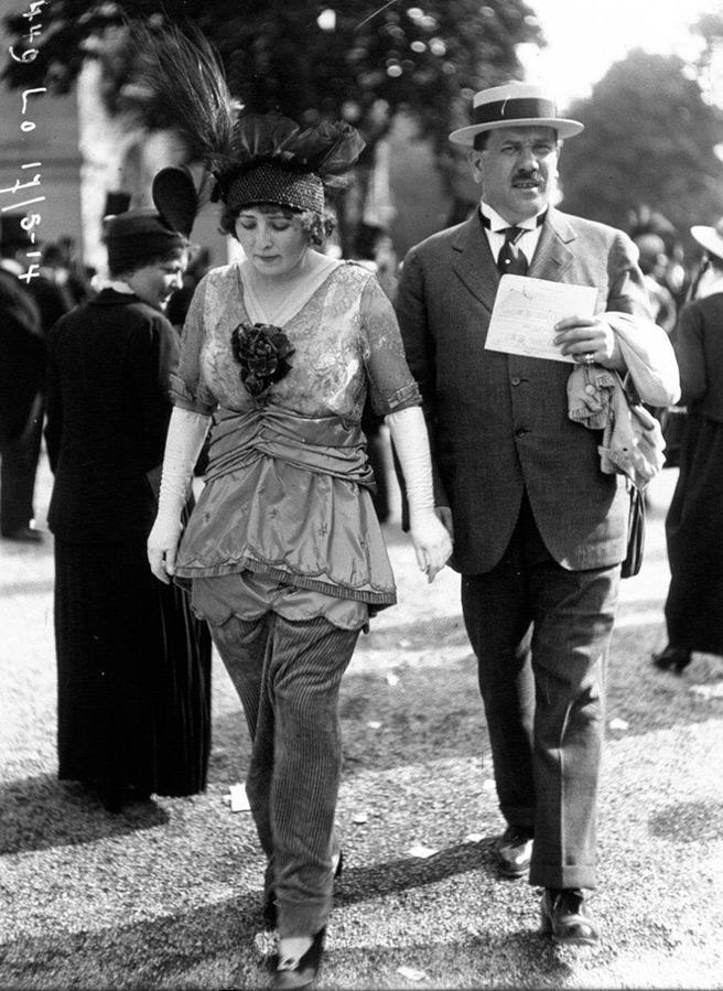 Уличная мода начала XX века