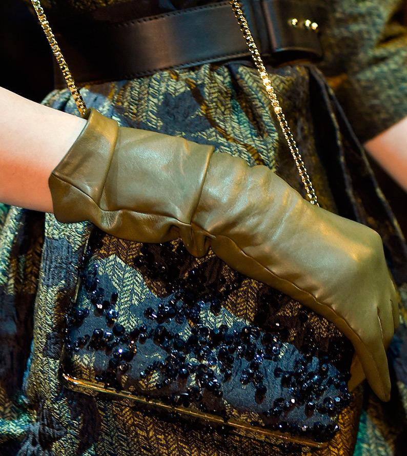 Модные женские перчатки Elie Saab