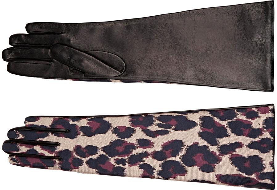 Модные женские перчатки Lanvin
