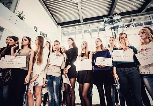 Кастинг моделей для Belarus Fashion Week