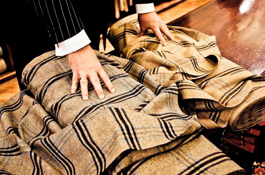 Твидовые ткани