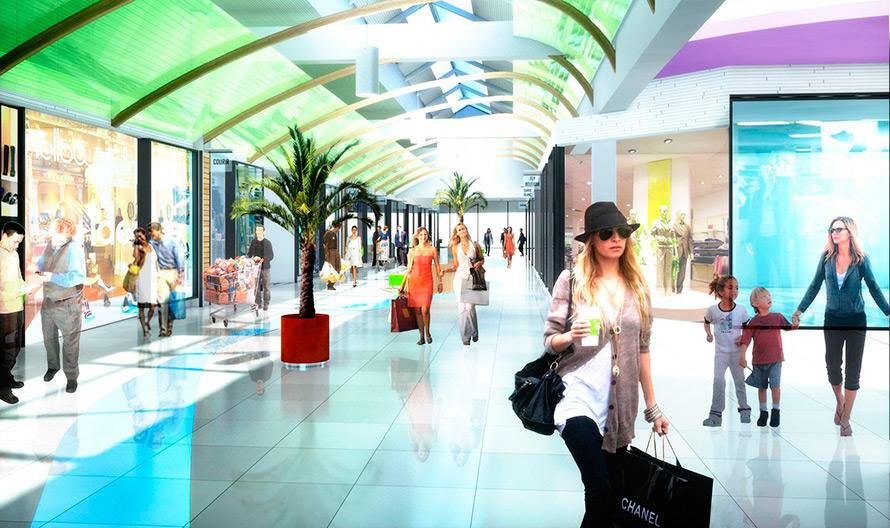 Новые торговые центры