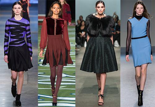 Складки как декоративный элемент одежды