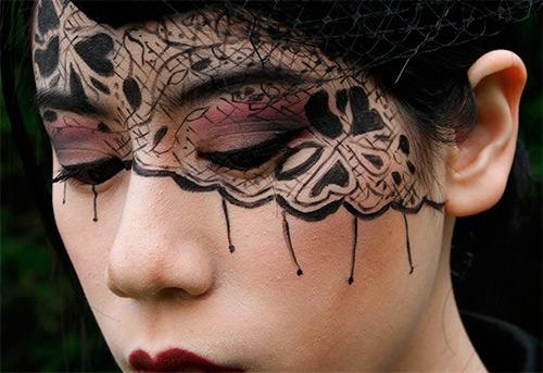 13 Кружевных масок на Хэллоуин