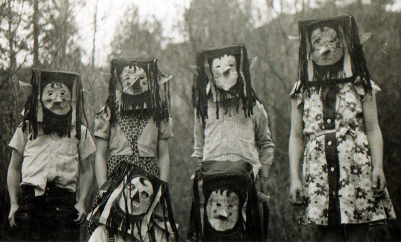 Винтажные фото с Хэллоуина