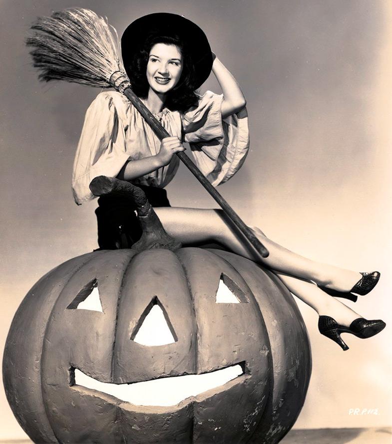 Хэллоуин винтажное фото