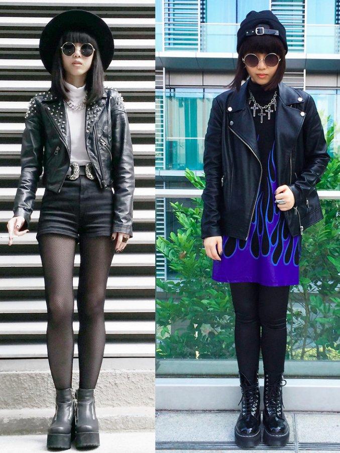 Куртка косуха – фото образов