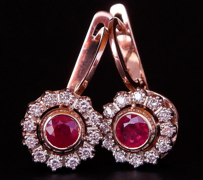 cc71f1e0f1a2 Советские ювелирные украшения из золота и бриллиантов