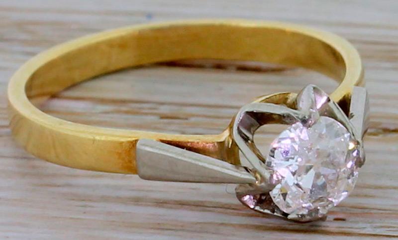 Советское ювелирное изделие кольцо