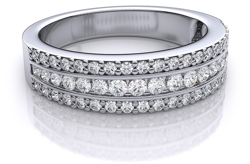 Роскошные украшения с бриллиантовым паве