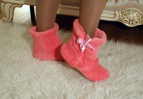 Стильная и уютная домашняя обувь