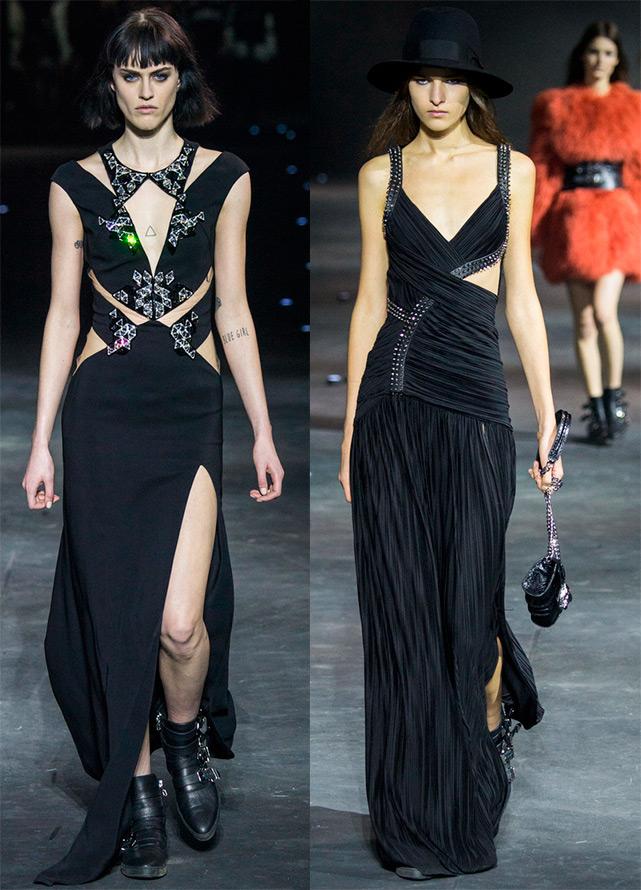 Черные платья Philipp Plein