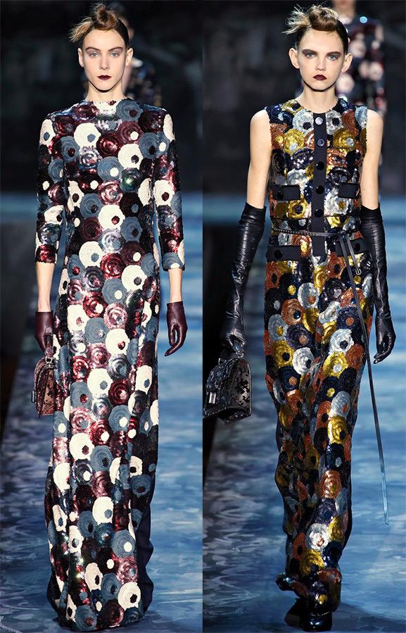 Платья с пайетками от Marc Jacobs
