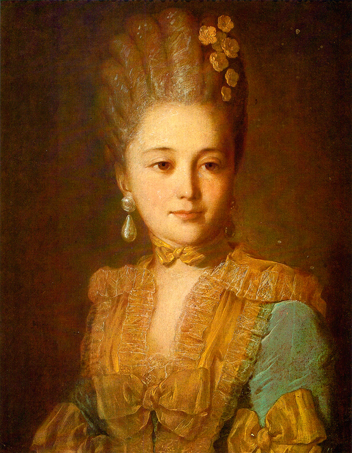 Портрет неизвестной художника Рокотова