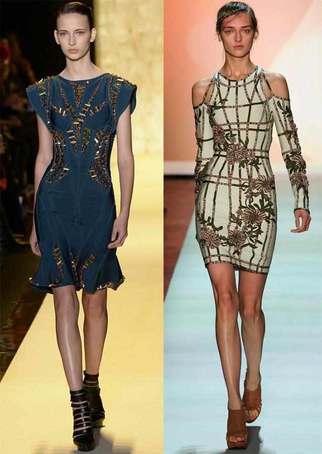 Бандажные платья Herve Leger