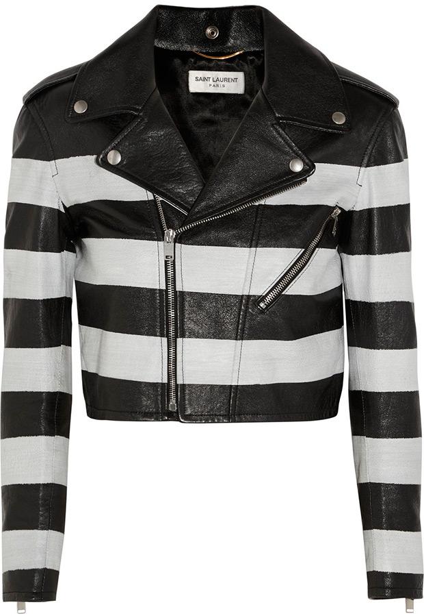 Модные кожаные куртки для девушек