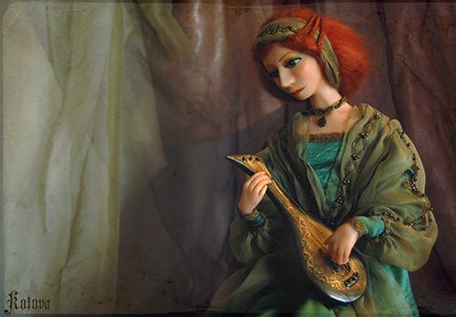 Авторские куклы и игрушки от Ольги Котовой