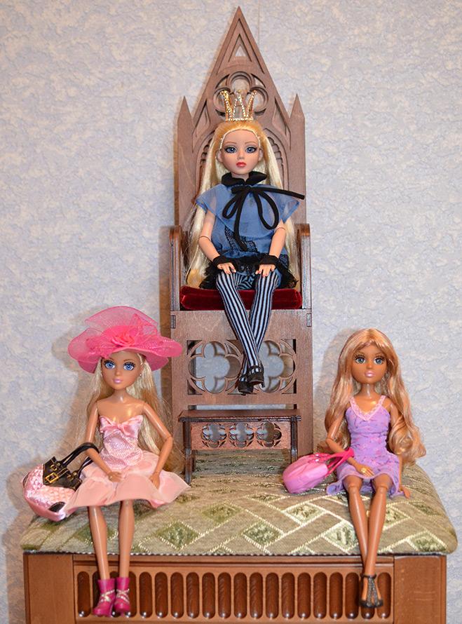 Корона для куклы Принцессы