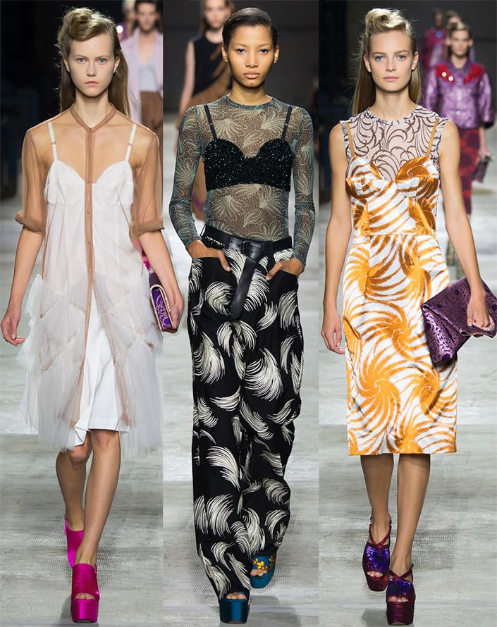 Женская мода весна-лето 2016
