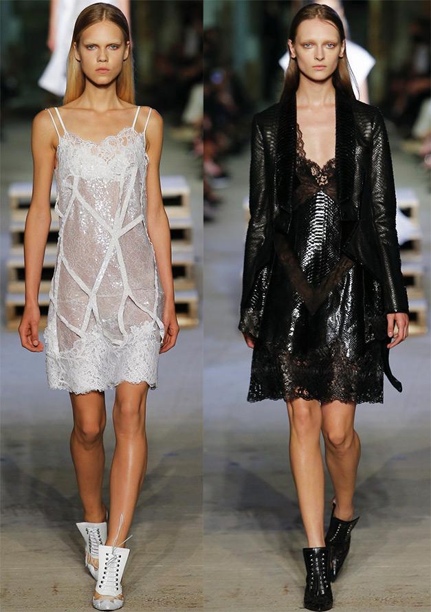 Бельевой стиль в модной одежде