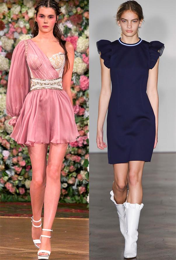 Модный рукав на платье 2016