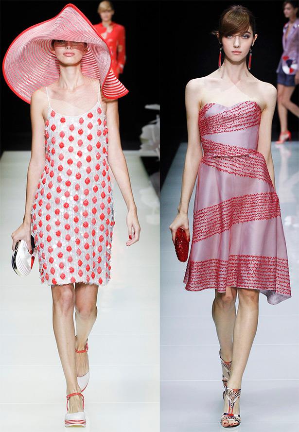 Giorgio Armani платья 2016