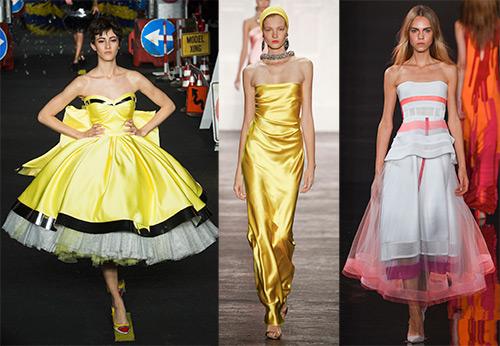 Лучшие способы носить платье - бюстье