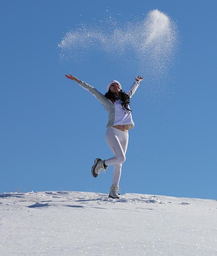 Девушки в снегу фото фото 175-893