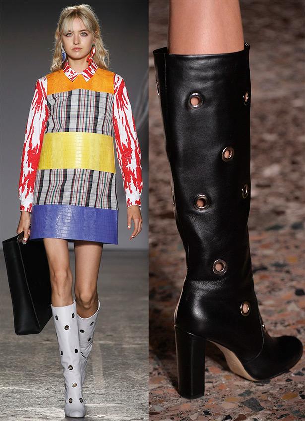 Модные женские сапоги из коллекций 2016