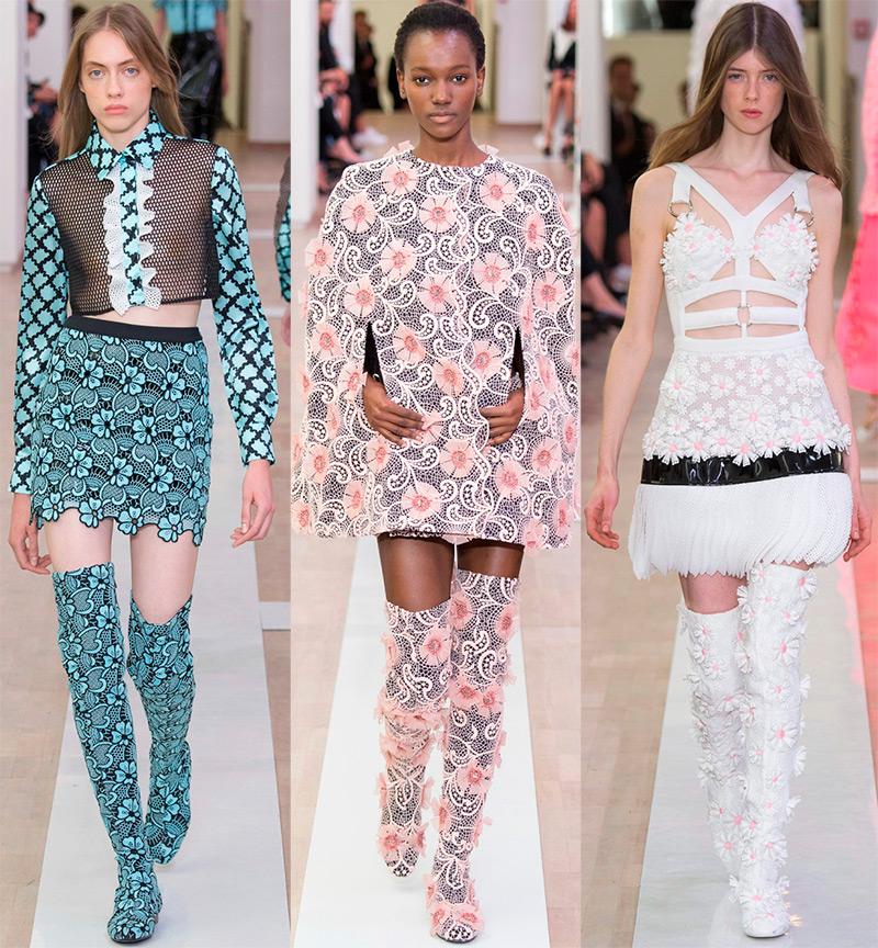 Emanuel Ungaro Модные женские сапоги