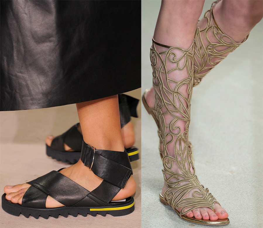 f27359926df6 Модная женская обувь весна-лето 2016 – фото и тенденции