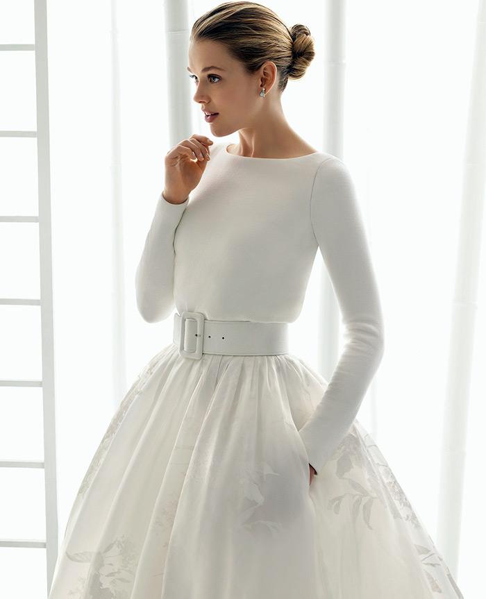 Свадебный образ с поясом